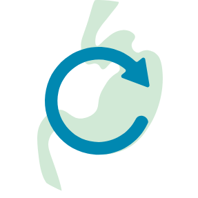 weight loss surgery revision graphic icon