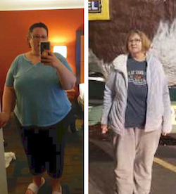 Matty's weight loss transformation