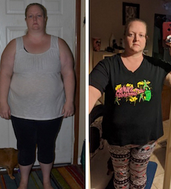 Robyn's weight loss transformation