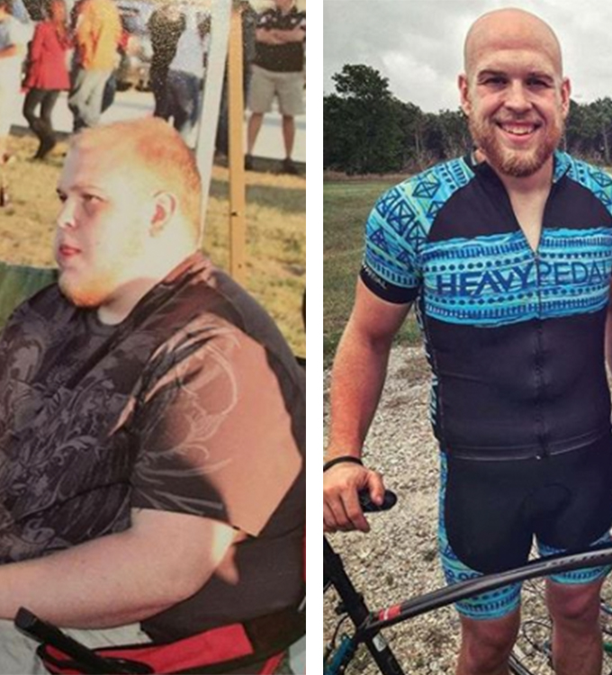 Reid's weight loss transformation