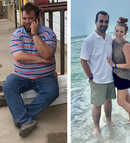 Richard's weight loss transformation