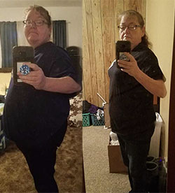 Betty's weight loss success