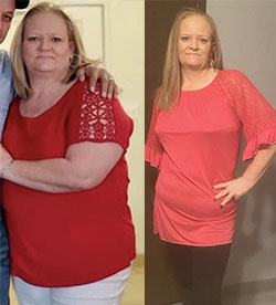 Laquitha's weight loss success