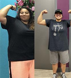 Remington's weight loss success