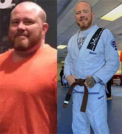 Jame's weight loss transformation