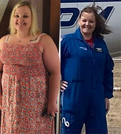 Laura's weight loss transformation