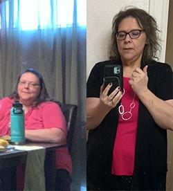 Tamra's weight loss transformation